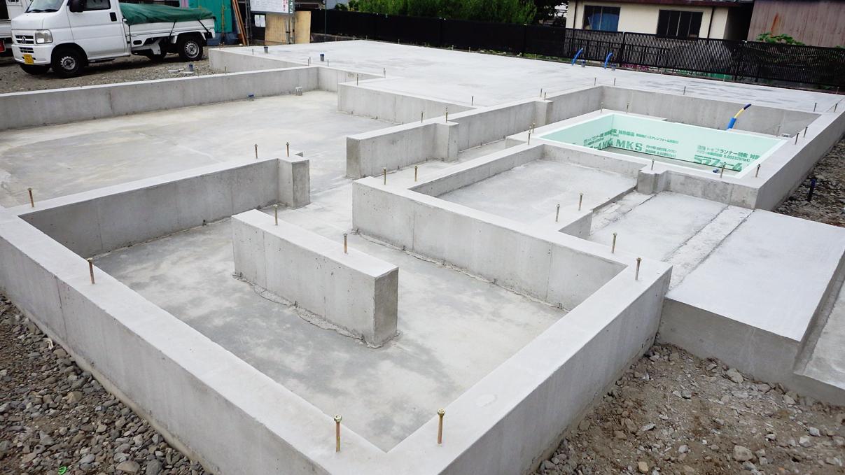 エイジングのお家 基礎工事4