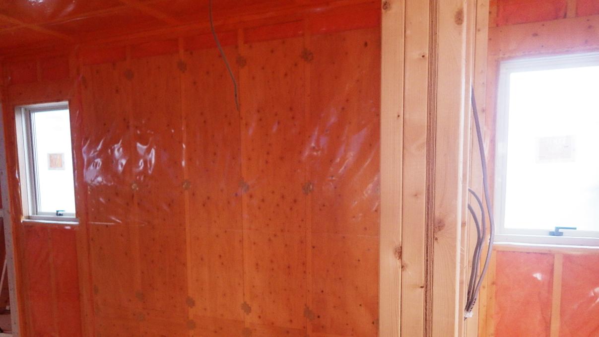 大好きな自然素材の漆喰のこだわりのお家 内装工事10