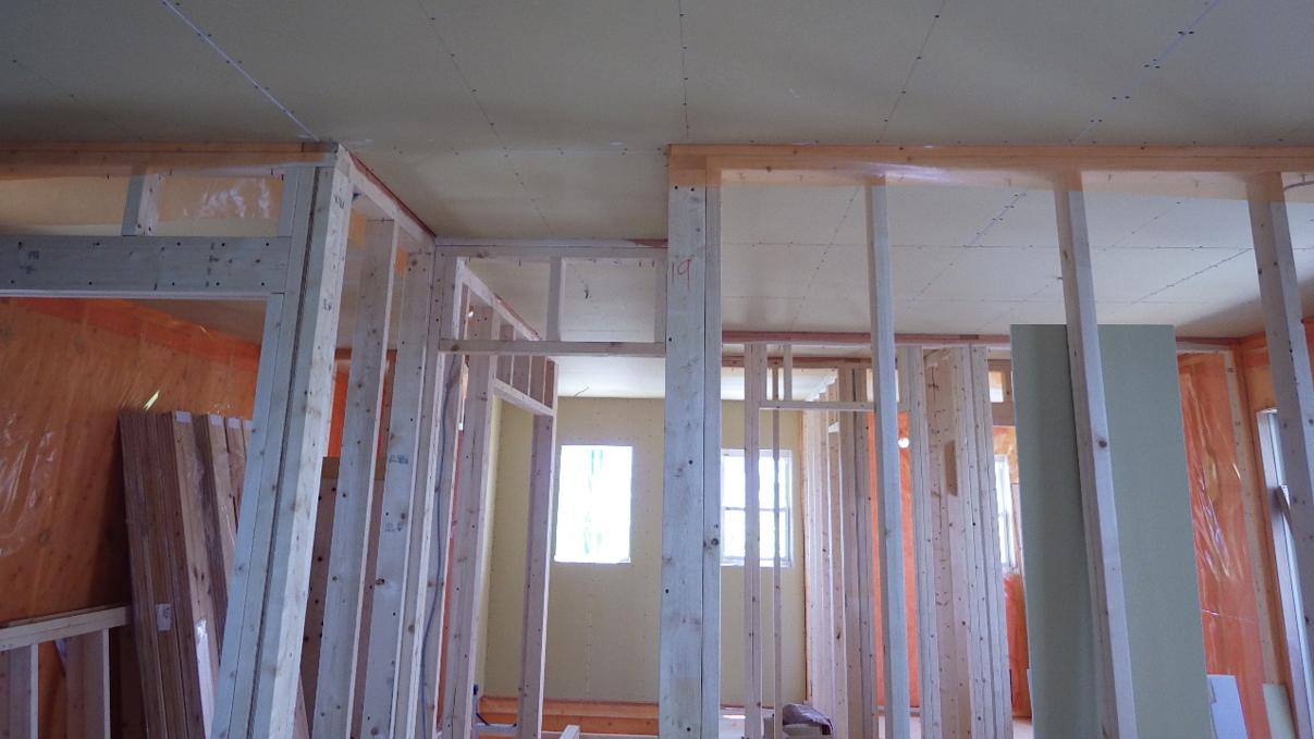 大好きな自然素材の漆喰のこだわりのお家 内装工事12