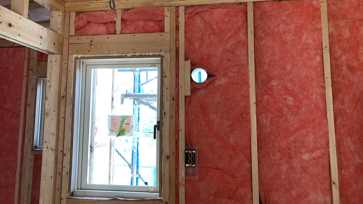 大好きな自然素材の漆喰のこだわりのお家 内装工事8
