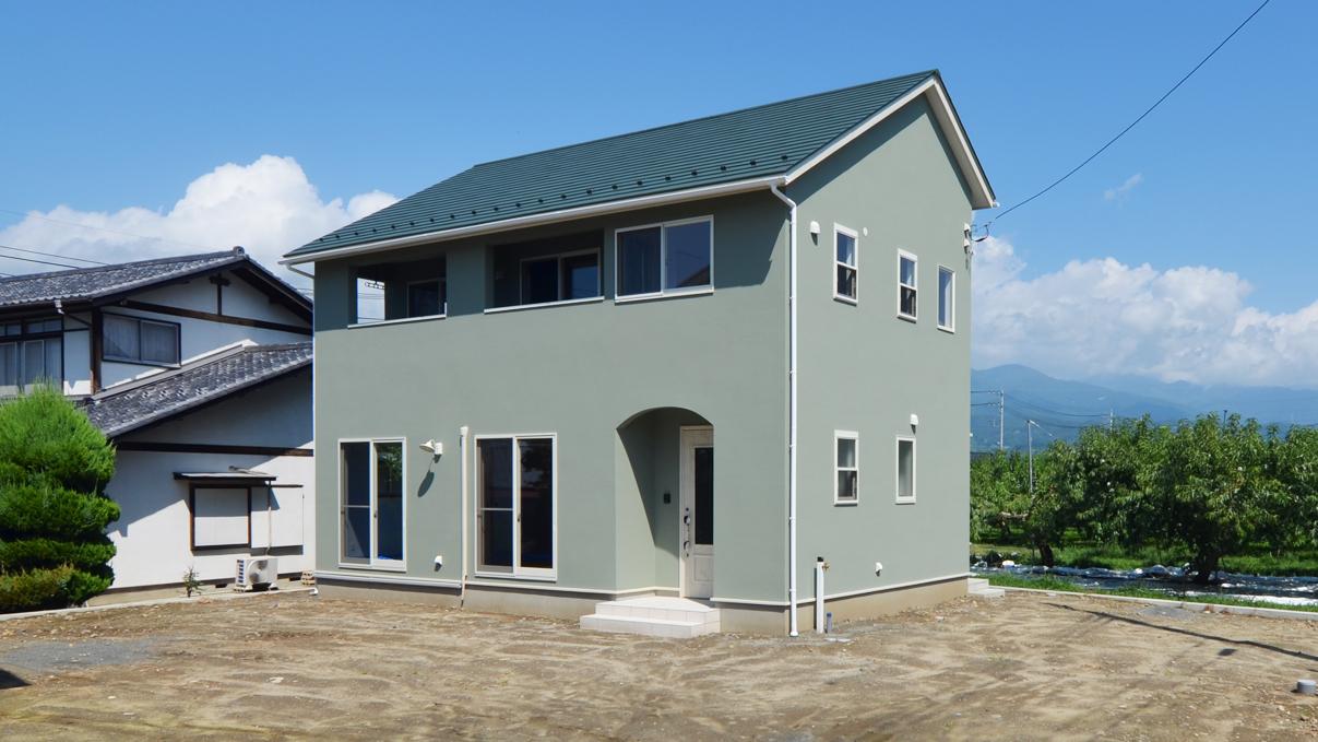 大好きな自然素材の漆喰のこだわりのお家