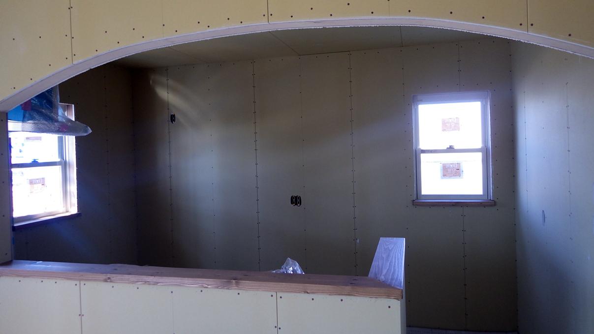 レザークラフト屋さんのかわいいお家 内装工事9