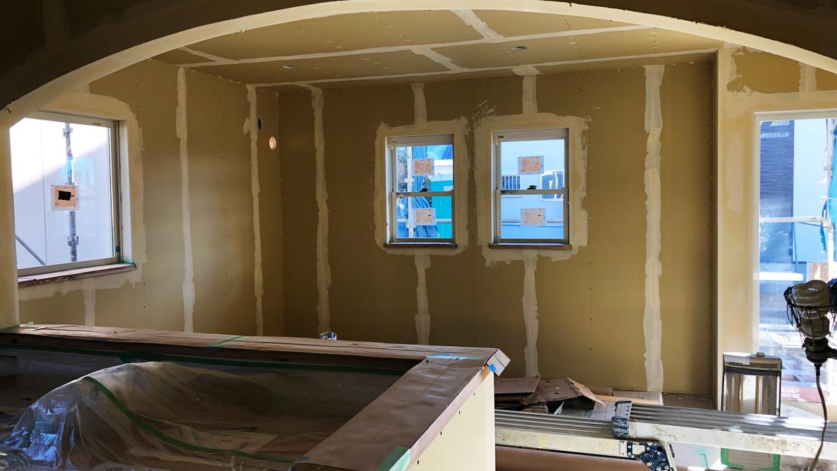 くつろぎのカフェスタイルのお家 内装工事8