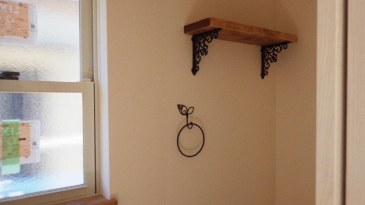 くつろぎのカフェスタイルのお家 内装工事12