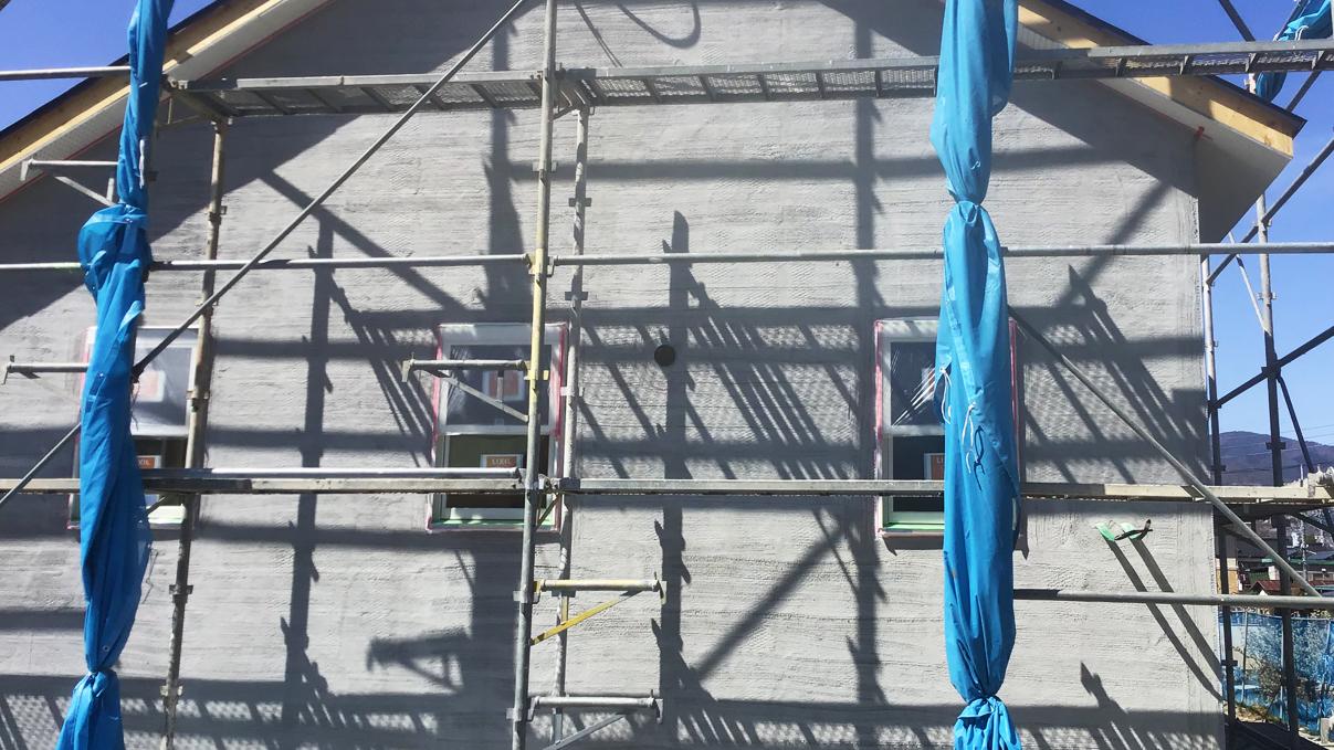 広々フラットハウス 外装工事10