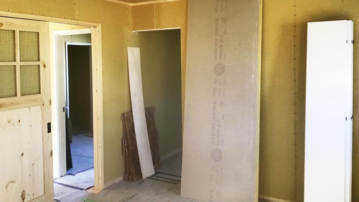 広々フラットハウス 内装工事6